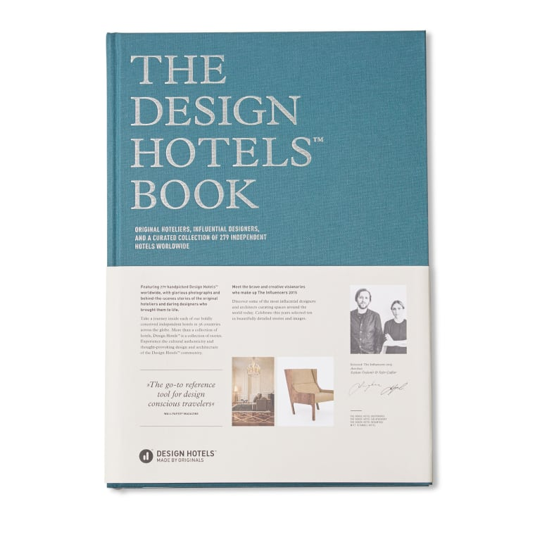 The design hotels book 2015 edition end for Design hotels 2015