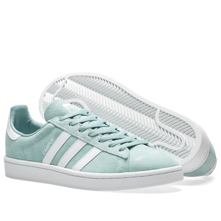 df9ef3cde5d5 Adidas Campus (Tactile Green   White)
