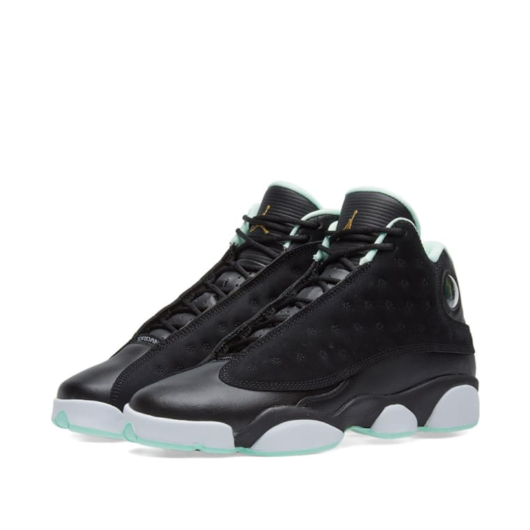 the best attitude 01b54 ef539 8b799 0d1e8  sweden nike girls air jordan 13 retro gs black metallic gold  mint 1 26418 ac078