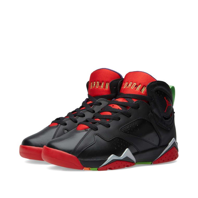 0e8b3c47e664ce Nike Air Jordan VII Retro BG  Marvin The Martian  Black   University ...
