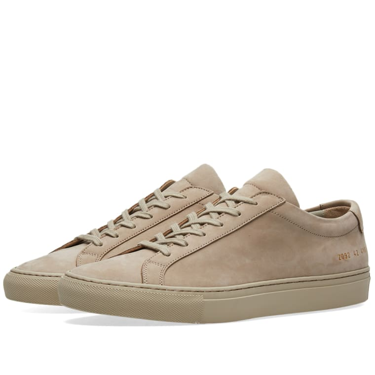 COMMON PROJECTS Off- Original Achilles Low Sneakers