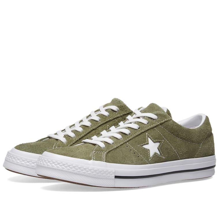 721554b4fce67f Converse One Star Ox (Field Surplus   White)