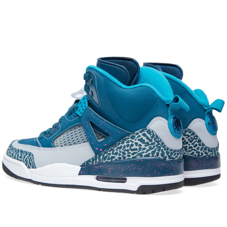 reputable site 547f0 b15b8 Jordan Spizike Space Blue Fusion Set in space blue, a hint of grey ...
