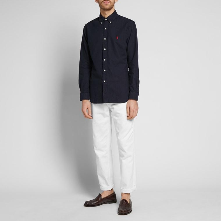 14de8dd0 Polo Ralph Lauren Slim Fit Brushed Oxford Shirt