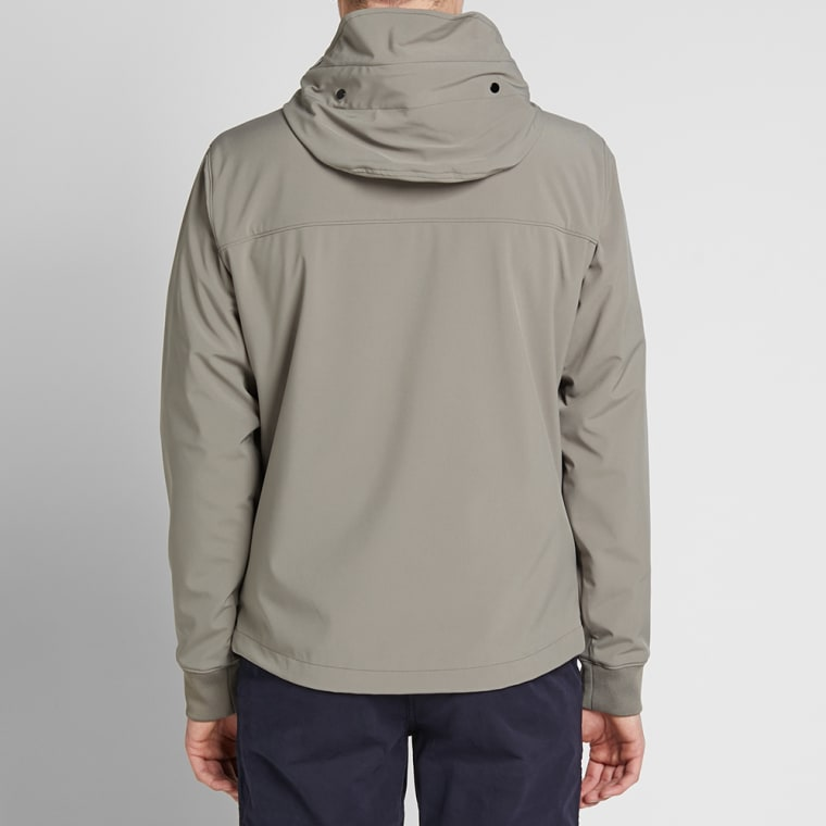 C P Company Soft Shell Goggle Jacket Grey End