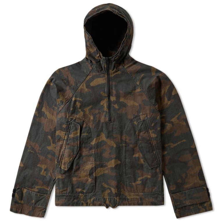 Lang camouflage jacka