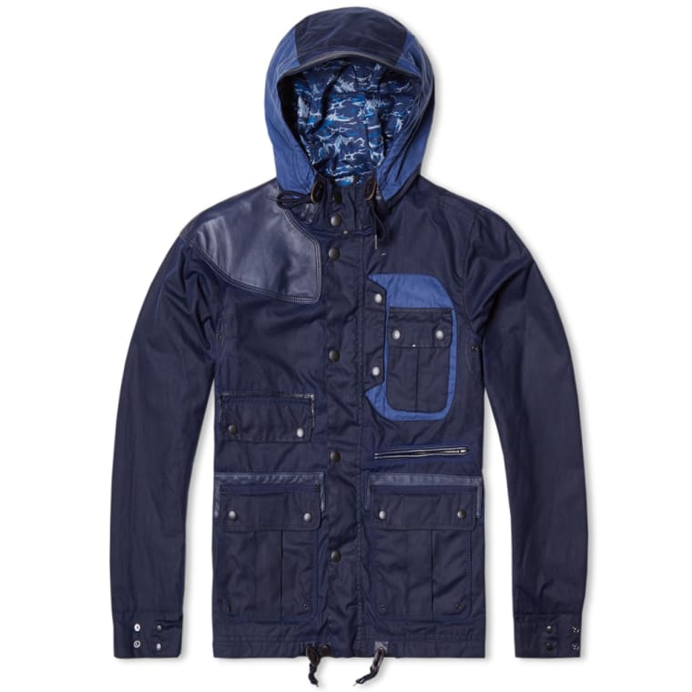 56e660dc886b BARBOUR x WHITE MOUNTAINEERING • HEAVYWEIGHT MOUNTAIN PARKA • RRP ...