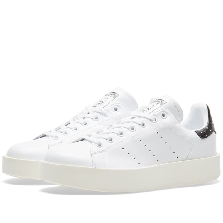 ... wholesale outlet ca626 2e961 Adidas Womens Stan Smith Bold W White Core  Black ... aac141a2ae