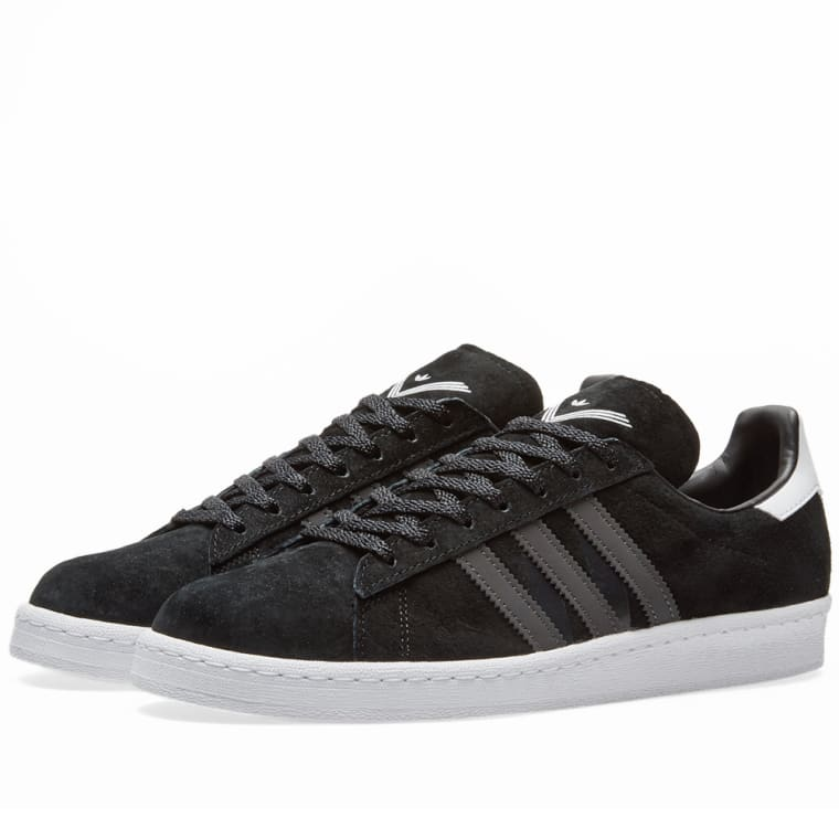 new concept dcbcd aa933 Adidas x White Mountaineering Campus 80s Core Black  Utility Black 6