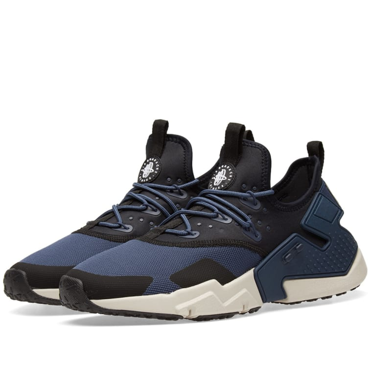 Nike Air Huarache Drift Blue, Sand, Black \u0026 White 1