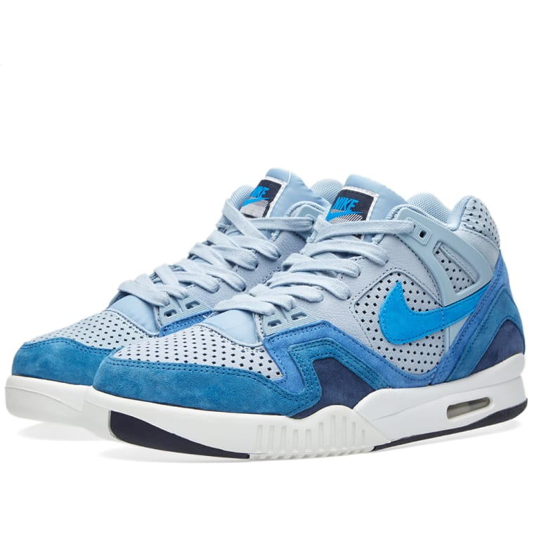 bde950c190b Nike Air Tech Challenge II QS (Blue Grey   Photo Blue )