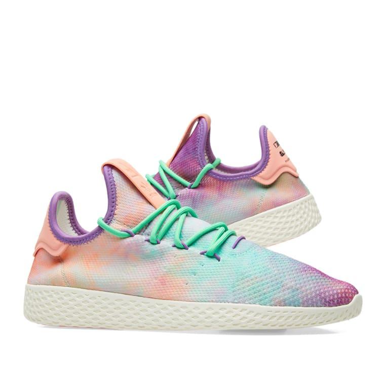 b72385a22b72b ... switzerland adidas x pharrell williams hu tennis hu holi powder dye  chalk coral a4997 be106