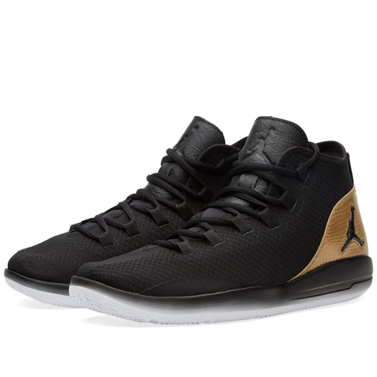 ... best nike jordan reveal q54 black white metallic gold 1 00d26 4d16b 5754fccf4