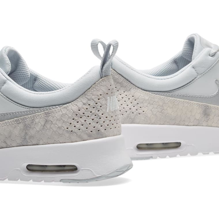 on sale af1bf 55657 ... authentic nike air max thea premium w pure platinum white 4 3197c 3d542
