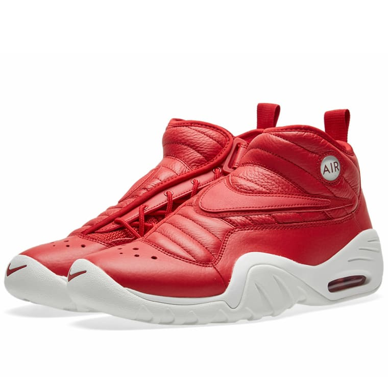 sports shoes 7d912 0ca0a nike air shake ndestrukt red white