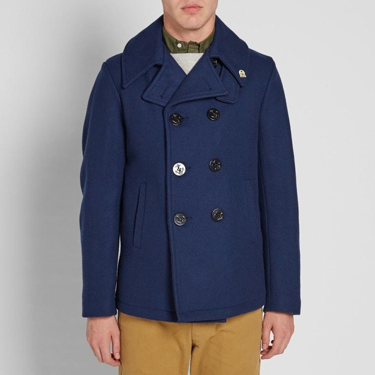 Fidelity USN Wool Pea Coat  Midnight  4