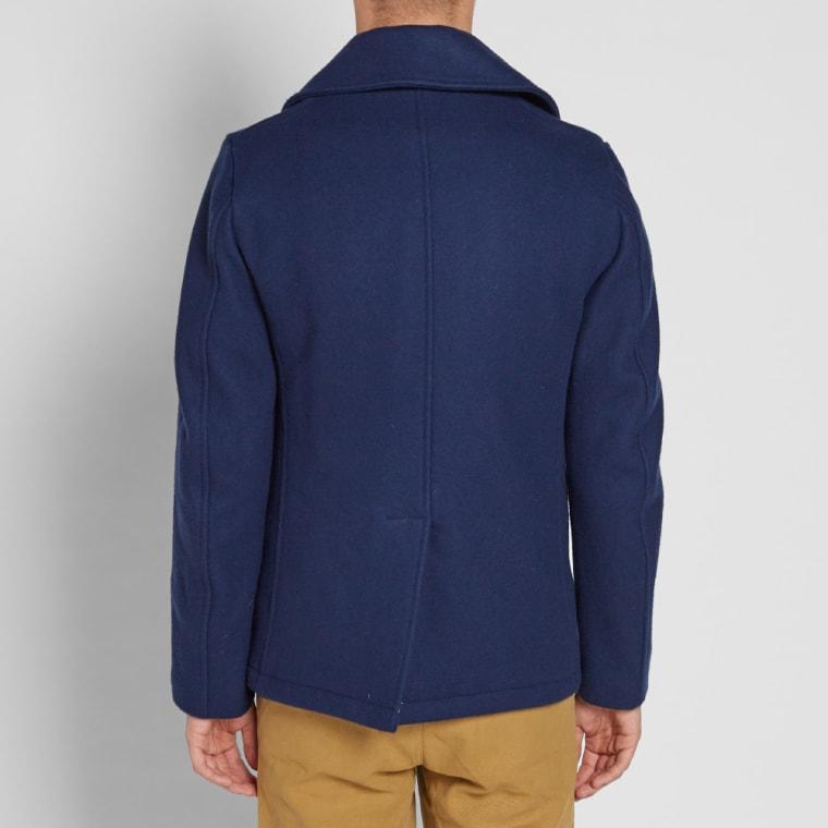Fidelity USN Wool Pea Coat  Midnight  5