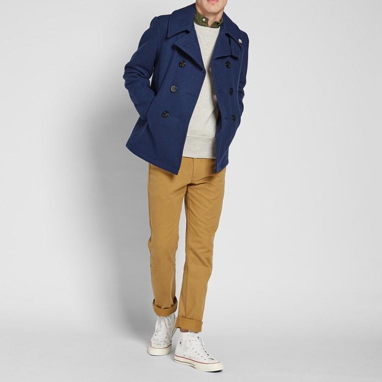 Fidelity USN Wool Pea Coat  Midnight  2