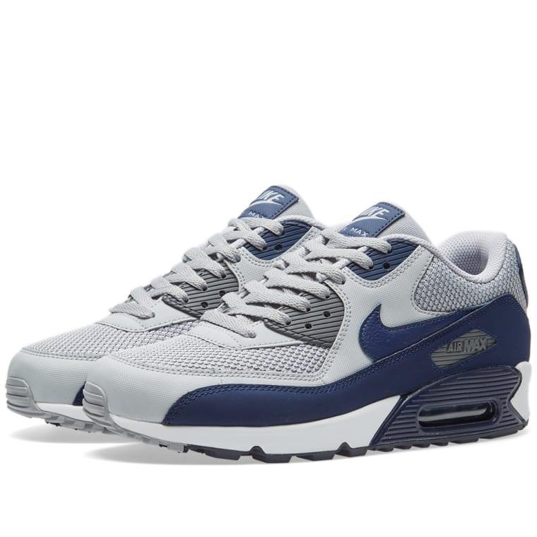 low priced b66ea 44914 ... sweden nike air max 90 essential wolf grey binary blue white 1 af229  8f95f