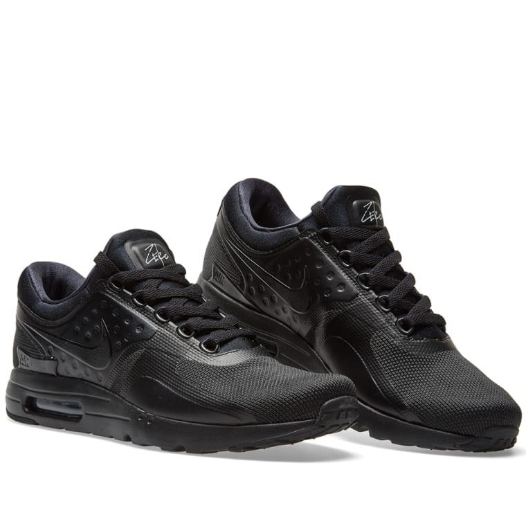 Mens Nike Air Max Zero Essential Shoes Triple Black 876070 006 Outlet