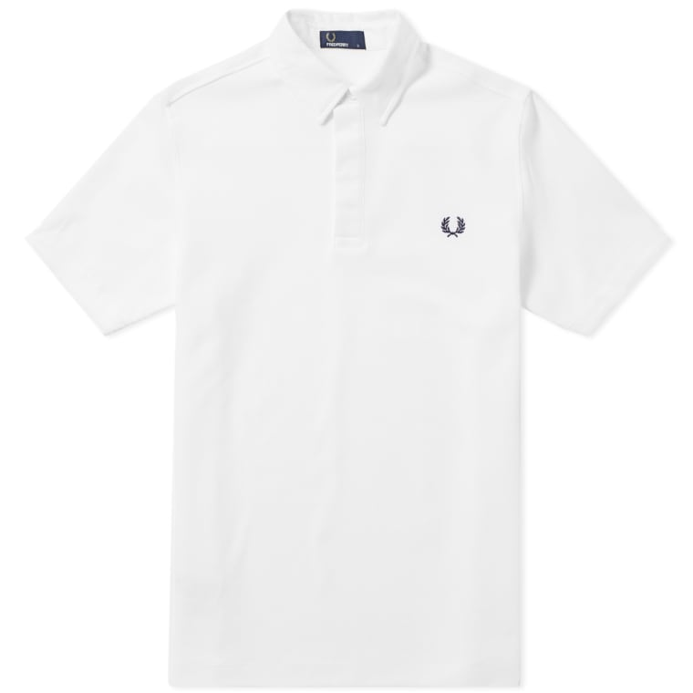 Fred Perry Textured Collar Pique Shirt