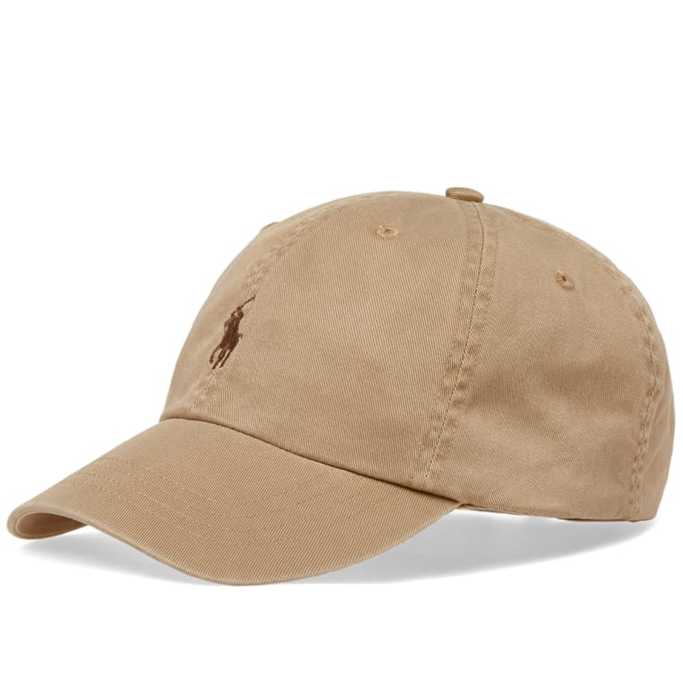 Polo Ralph Lauren Classic Baseball Cap (Boating Khaki)  860d1d19cd7