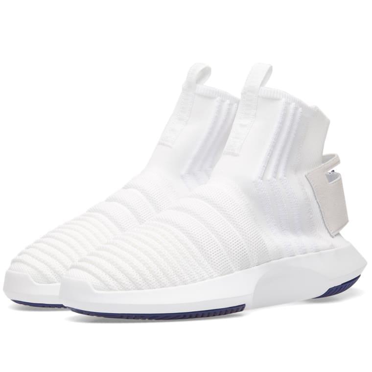 sports shoes b6e3b e0d67 ... reduced adidas crazy 1 adv sock pk white purple 1 d8c0d a8ed0