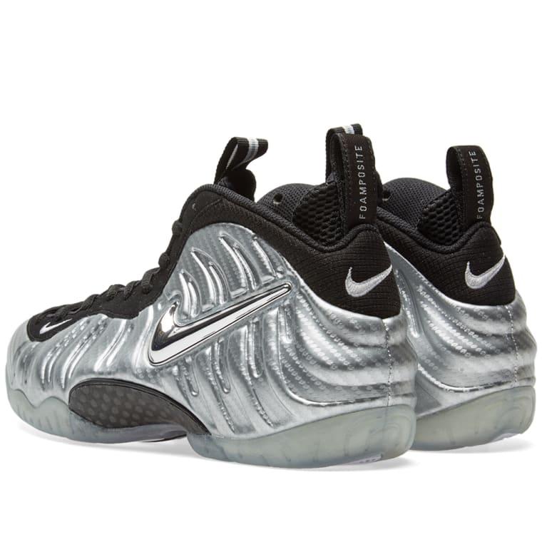 d6b6e642a47f9 Nike Air Foamposite Pro (Metallic Silver   Black)