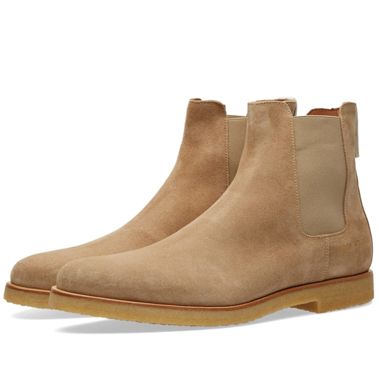 COMMON PROJECTS Suede Chelsea Boots Gr. EU 40