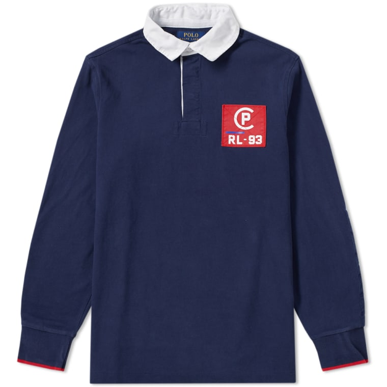 Polo Ralph Lauren Americas Cup CP-93 Rugby Shirt Cruise Navy 1