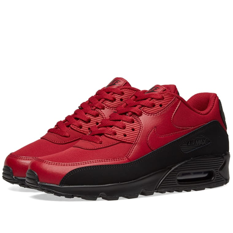 best cheap f2e8c 6d75a ... france nike air max 90 essential black red 1 ec622 0d98f