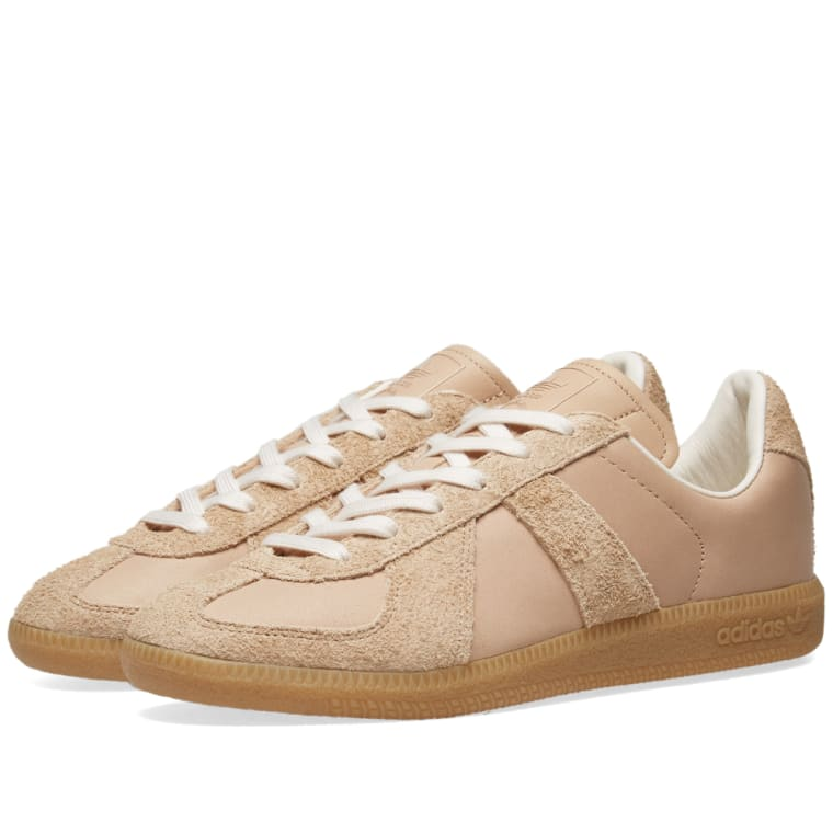 wholesale dealer d653a f78b5 Adidas BW Army Premium Leather Pale Nude  Chalk White 1