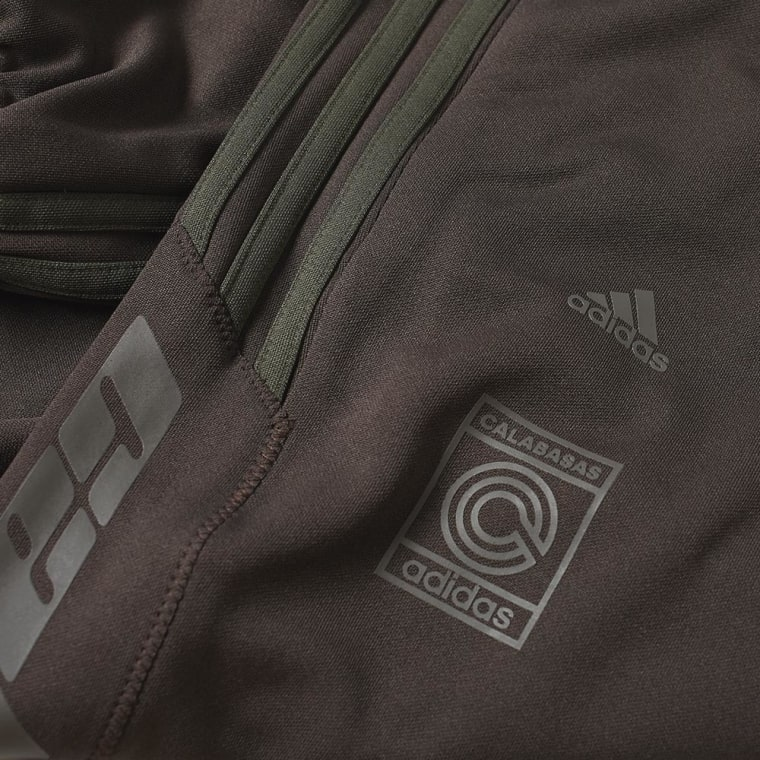 adidas yeezy calabasas track pant  umber  u0026 core