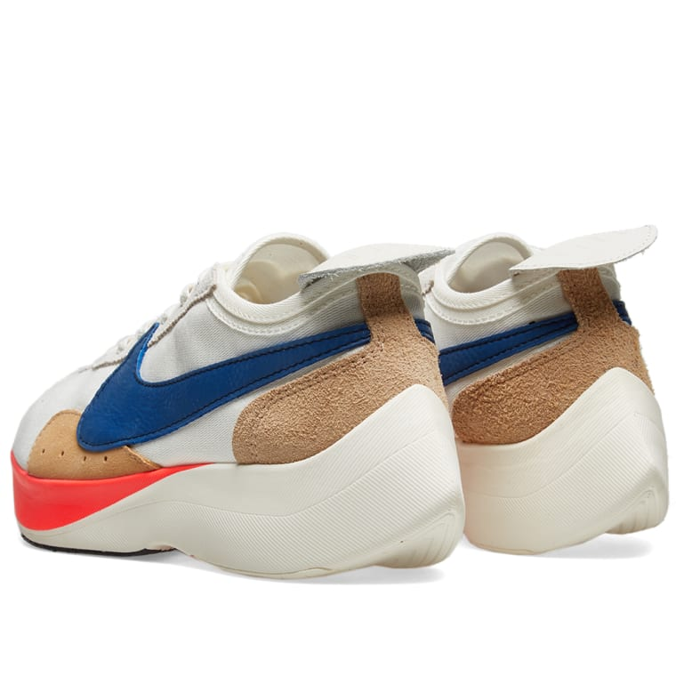 Nike Moon Racer QS Sail Gym Blue Solar Red Shoes Best