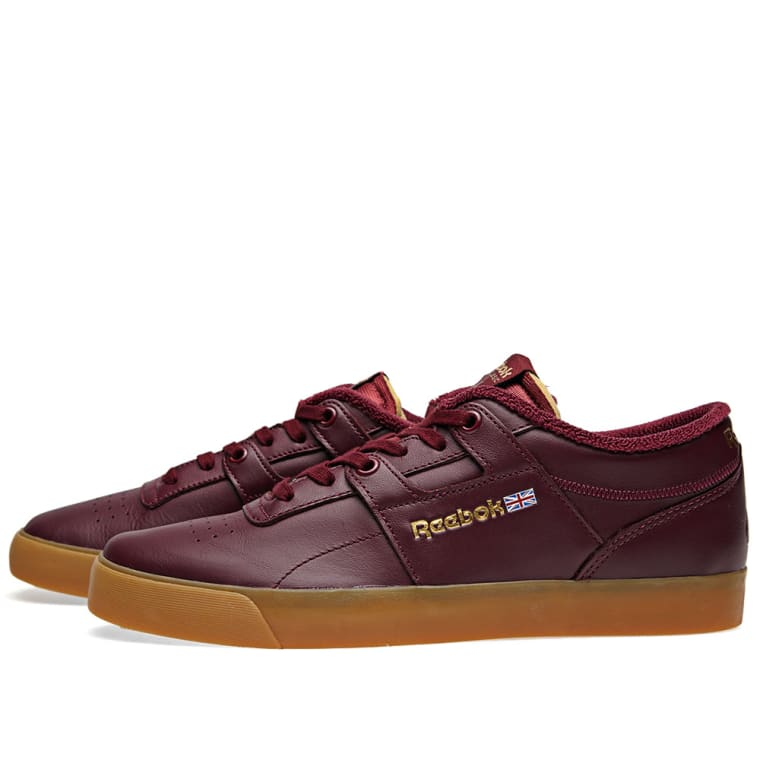 Reebok x Palace Workout Low Clean FVS (Burgundy   White)  6934569b8