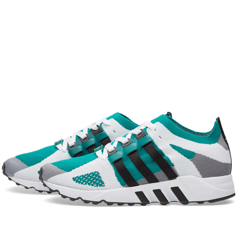 release date a5c0a a4877 Adidas EQT Running Guidance Primeknit Grey, Core Black   Sub Green 4