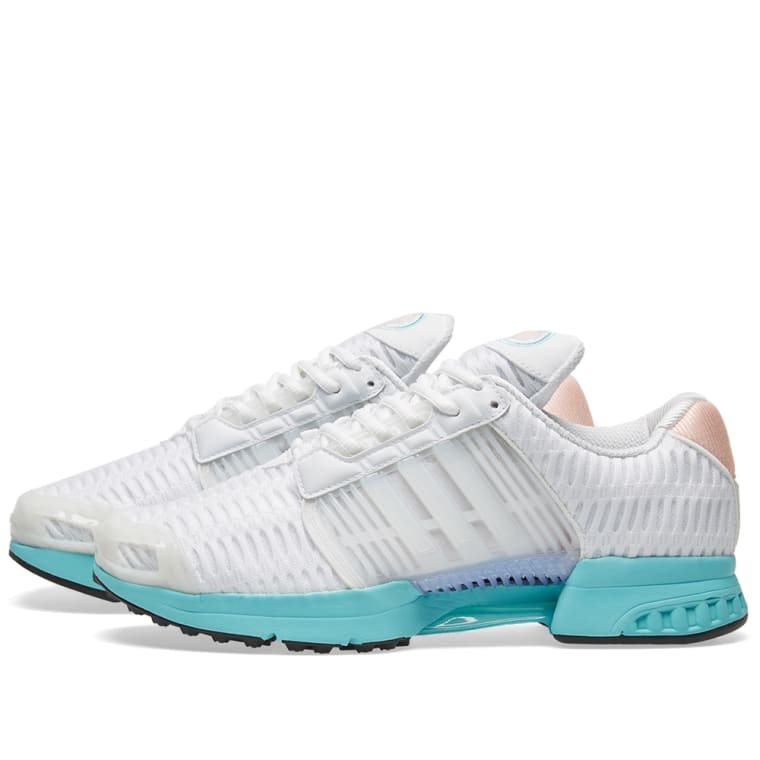 the best attitude 88436 b538d Adidas Womens ClimaCool 1 W White  Easy Mint 1