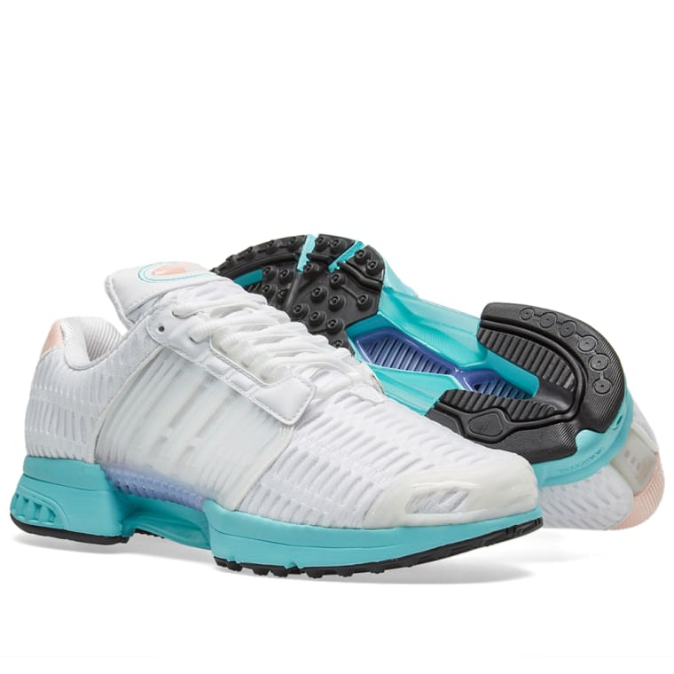 new products d2a10 13e39 Adidas Womens ClimaCool 1 W White  Easy Mint 2