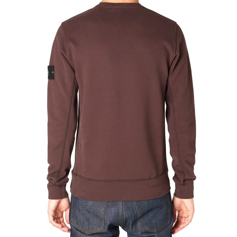 Stone Island Burgundy Sweatshirt
