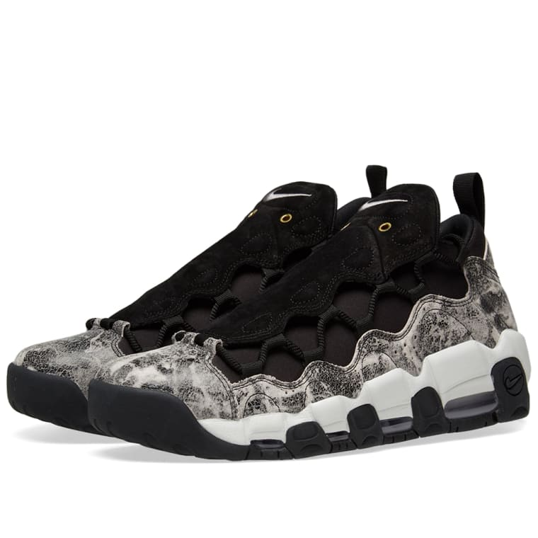 Nike Air More Money LX W Black, White  Pewter 1