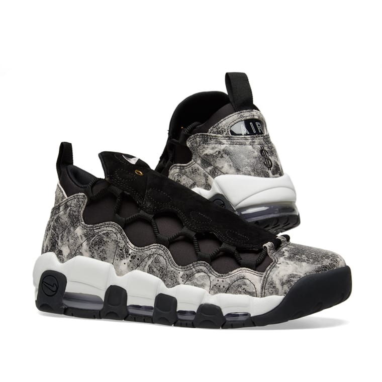 official photos f338f 09cef ... nike air more money lx w black white pewter 7