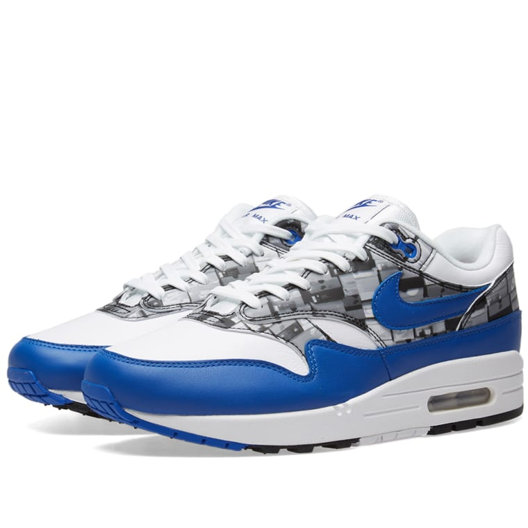 Promotion Nike Air Max 1 Print 528898 002 BlackWhite