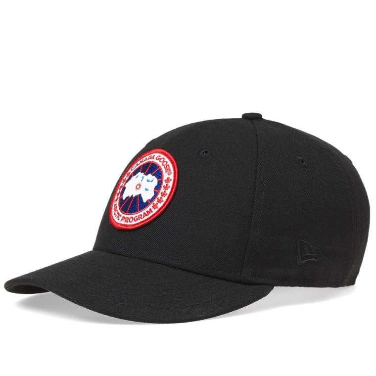 canada goose new era hat black 1