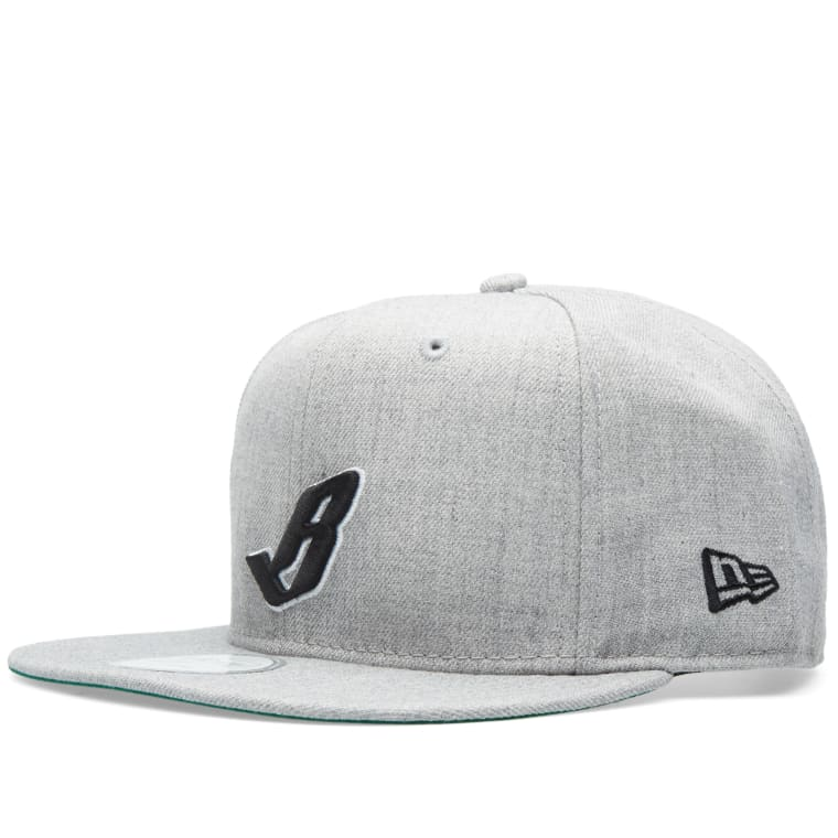 848f3256fc8 Billionaire Boys Club Margin Snapback (Heather Grey)