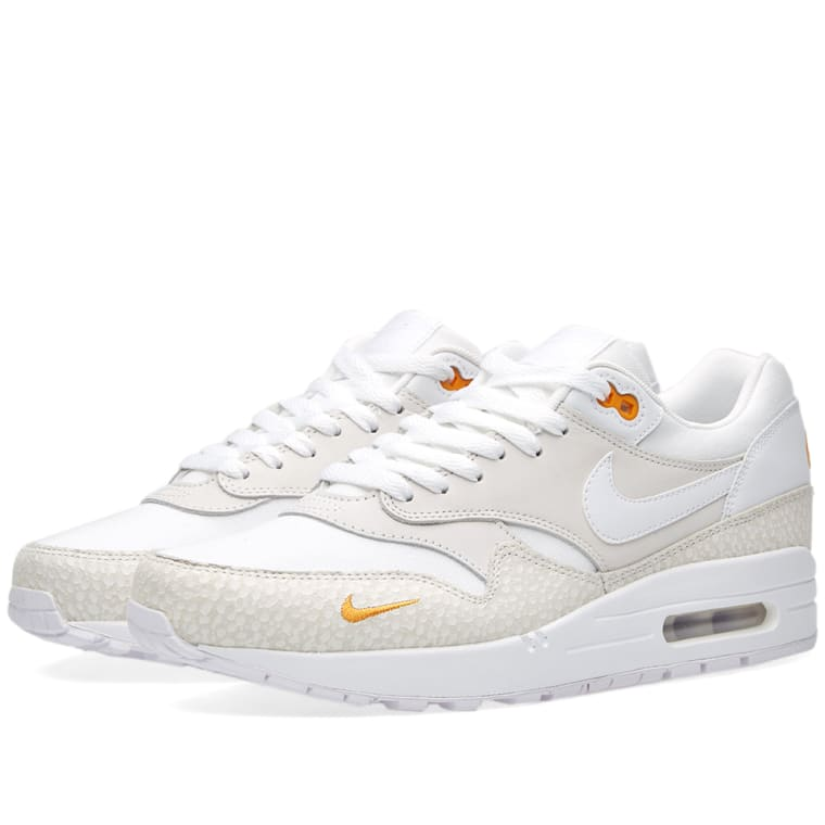 new concept 6befd 06155 ... sweden nike air max 1 premium white kumquat 1 a9bfe 2b9aa