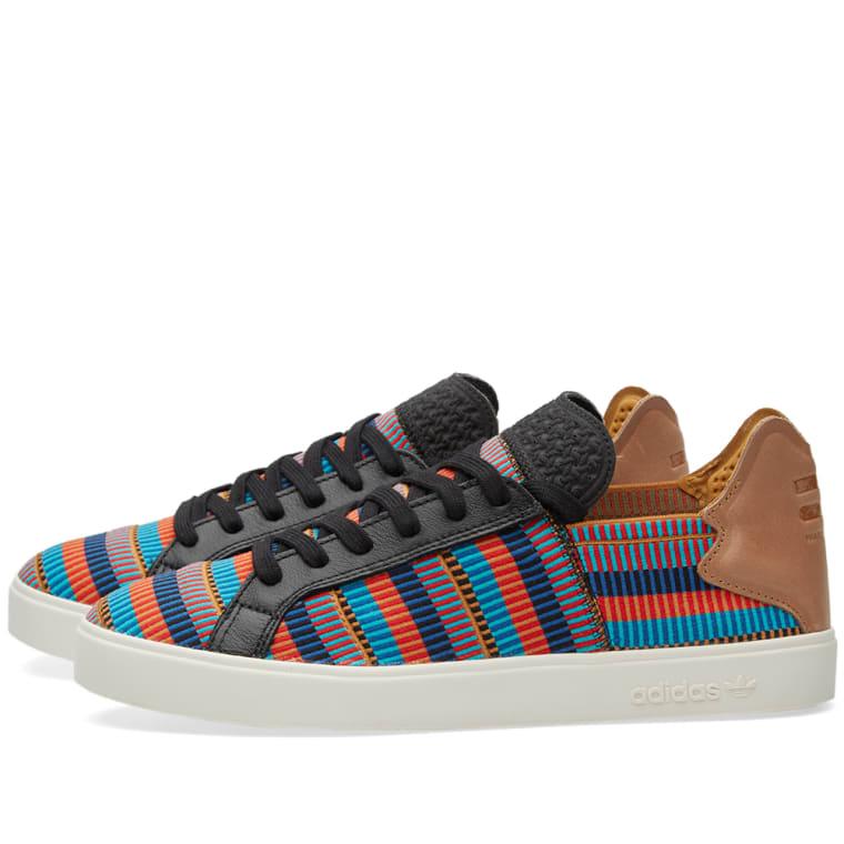 a82930fa0278c Adidas Consortium x Pharrell Elastic Lace Up PW (Black