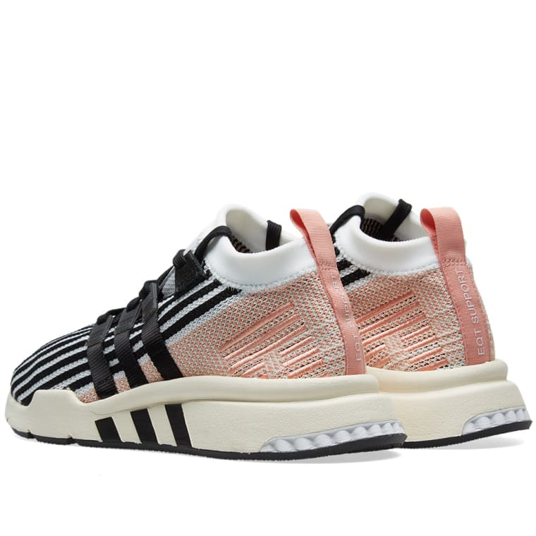 Adidas Eqt Support Mid Adv White Core Black Trace Pink End