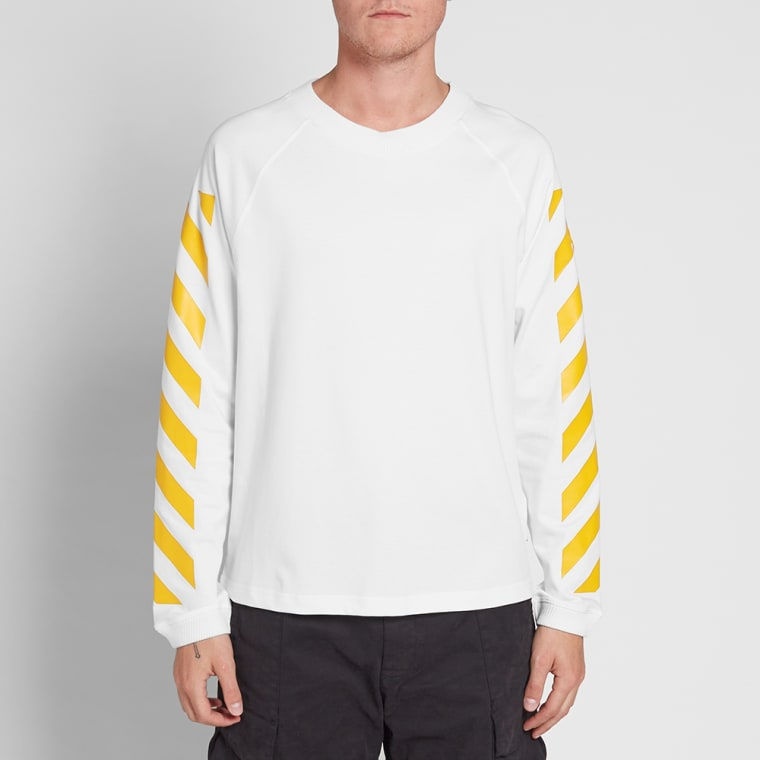 dc6c19be0 Moncler x Off-White Long Sleeve Chevron Tee (White)