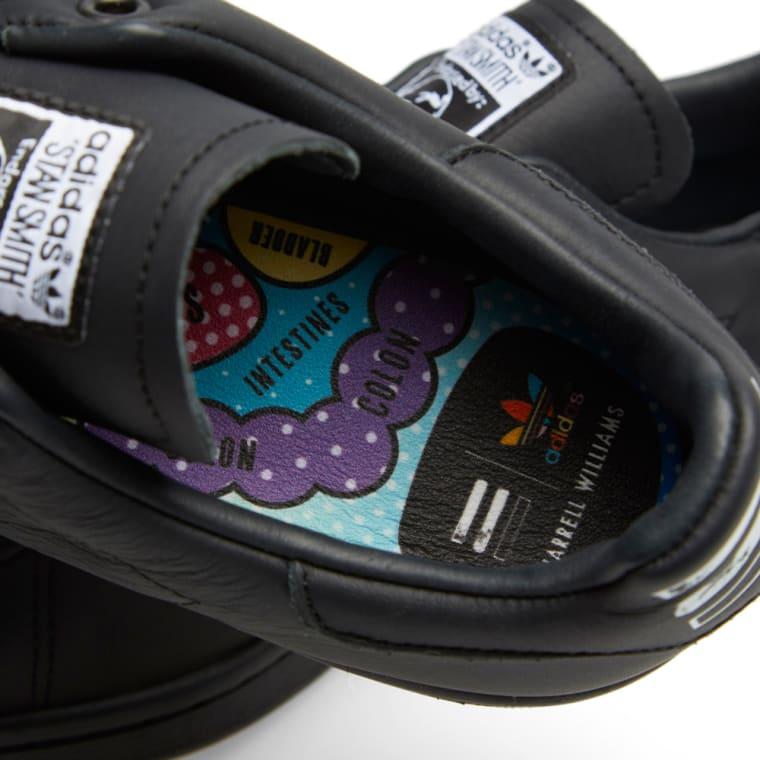 reputable site ebc74 b2c11 Adidas Consortium x Pharrell Williams Stan Smith Solid Black 4