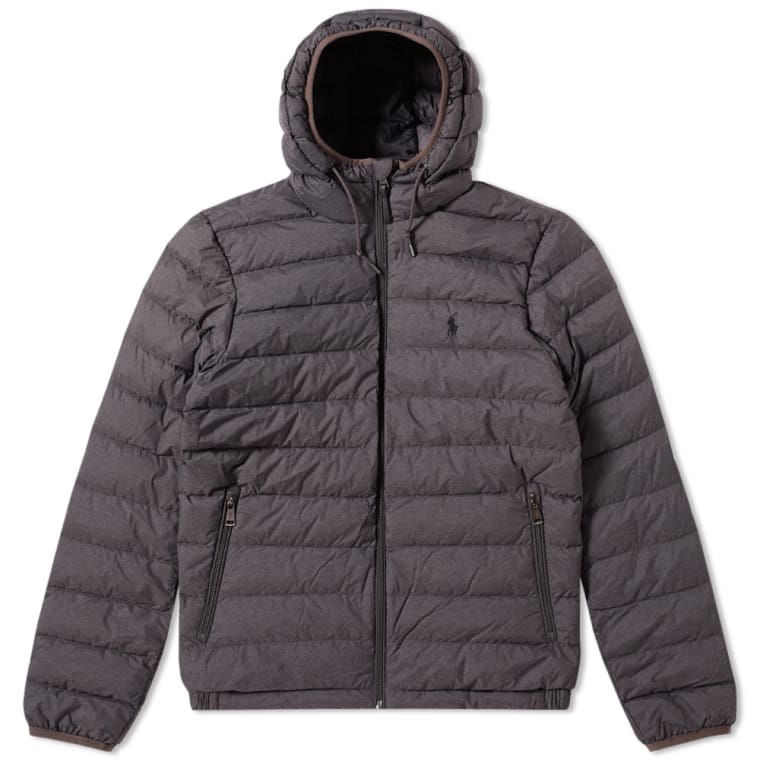 Polo Ralph Lauren Lightweight Down Jacket Windsor Heather 1